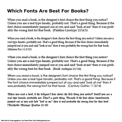 Traditional certificate fonts how to choose a font for a book design certificate yadclub Images