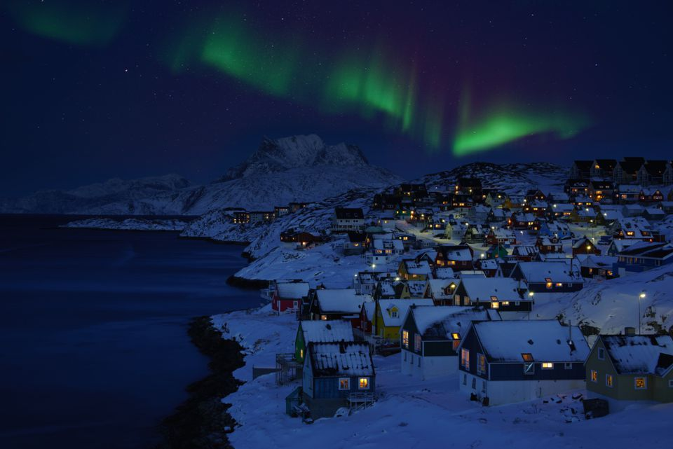 Greenland in December
