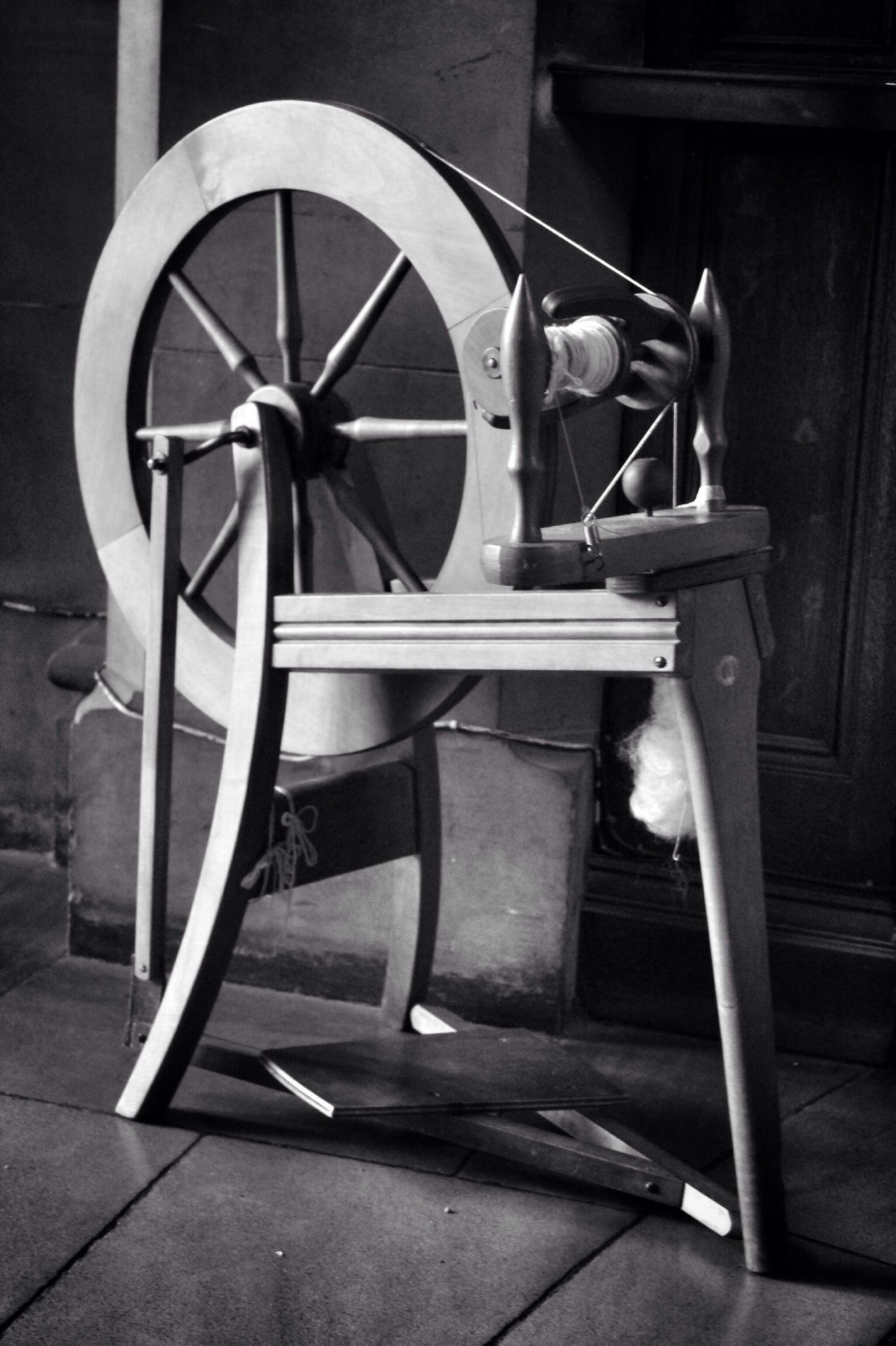 the evolution of the spinning wheel