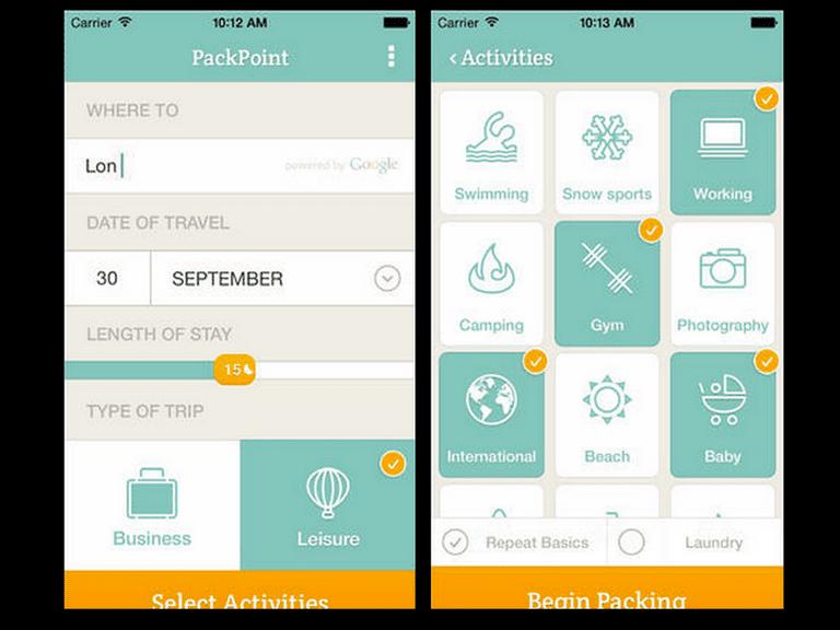 Best Travel Packing App Ios