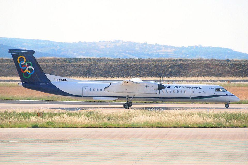 Olympic Air DHC-8-400 Dash 8; SX-OBC@ATH;12.06.2011/600ai
