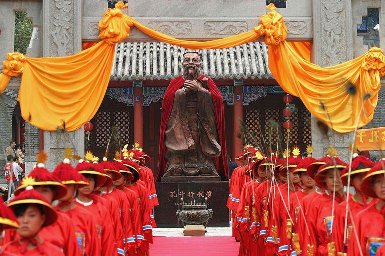China Marks The 2,556th Anniversary Of Confucius's Birthday