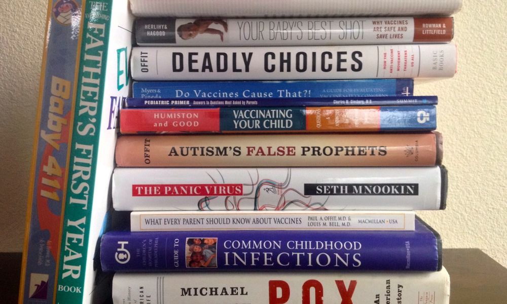 Vaccine books to help you do your vaccine research.