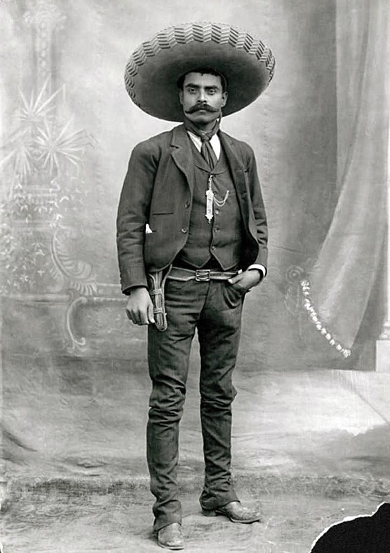 Biography of emiliano zapata for Emiliano zapata mural