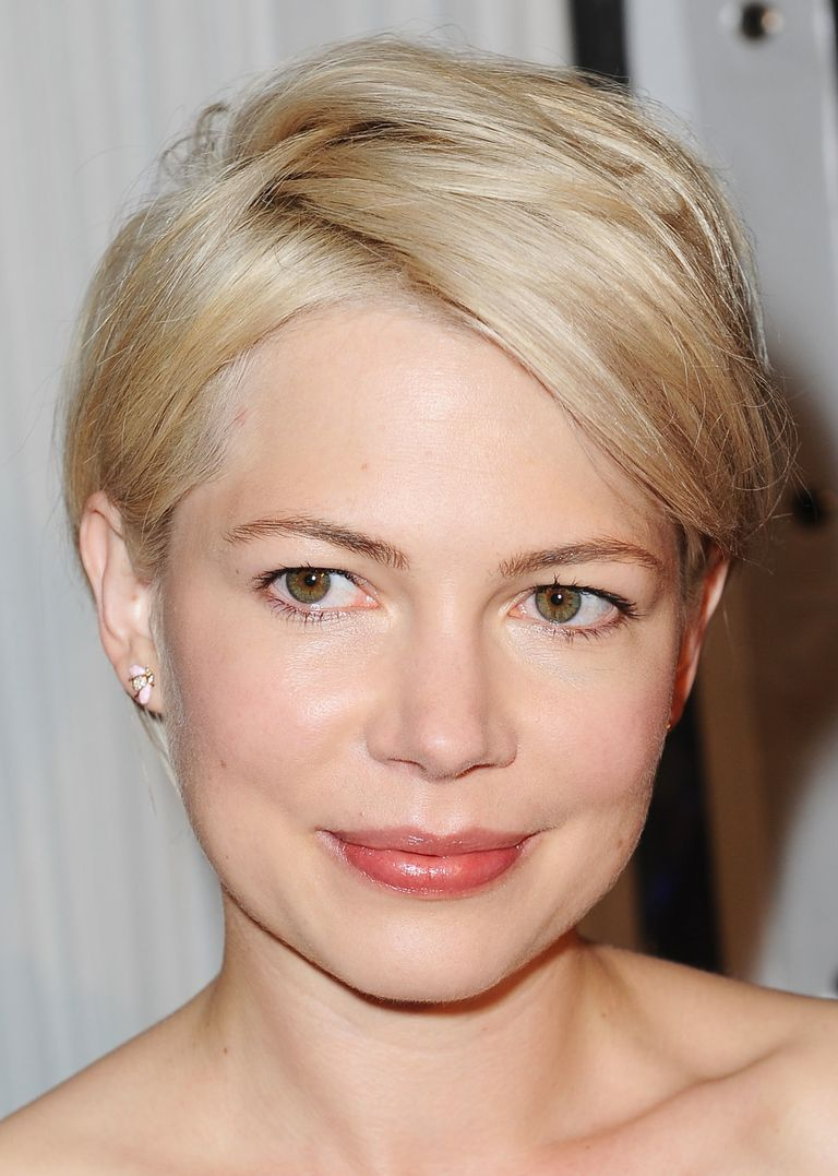 Actress michelle williams hairstyles a slideshow a formal version of her hairstyle michelle williams urmus Choice Image