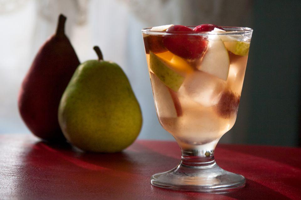 Pear Cobbler Cocktail