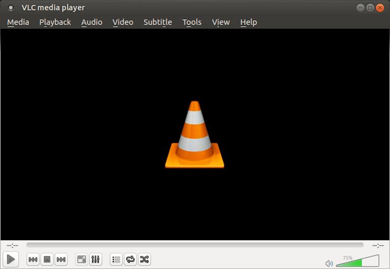 A screenshot of VLC Media Player 2.1.6 running under Ubuntu MATE