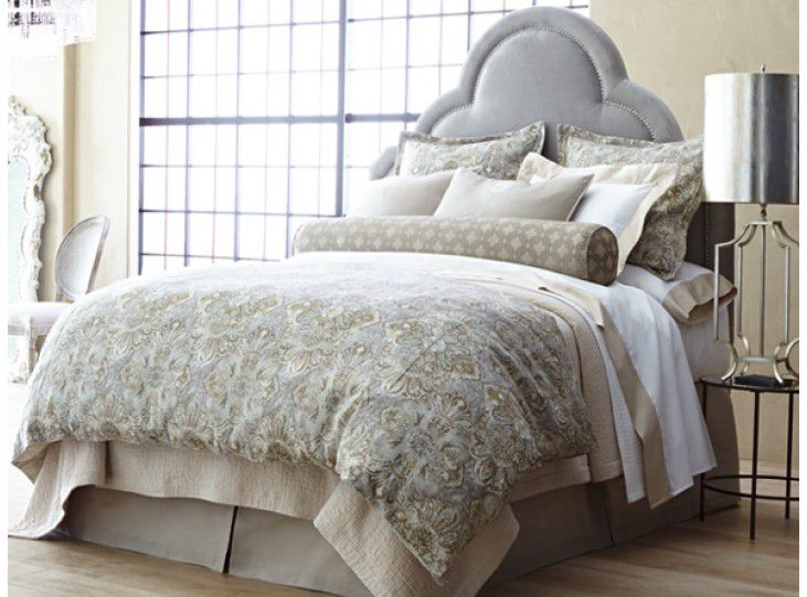 Baroque linens from Peacock Alley