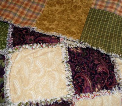 How to Make a Rag Quilt, Start to Finish Instructions : rag quilt how to - Adamdwight.com