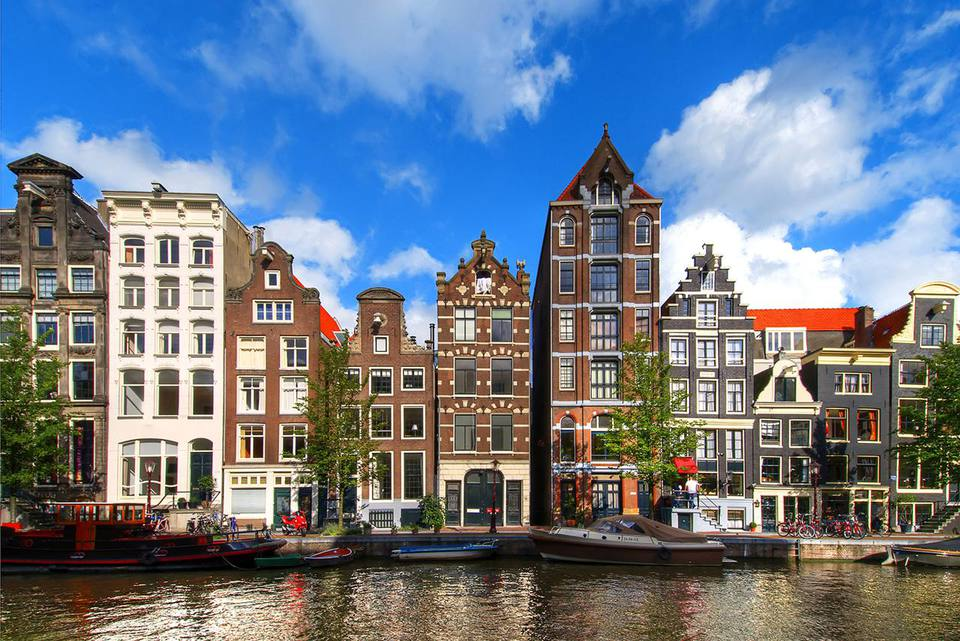 Herengracht Canal in Amsterdam