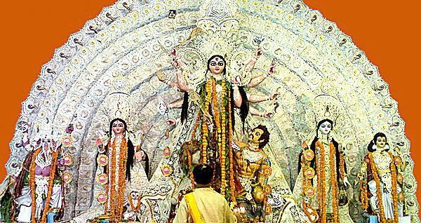 The Idol of Goddess Durga