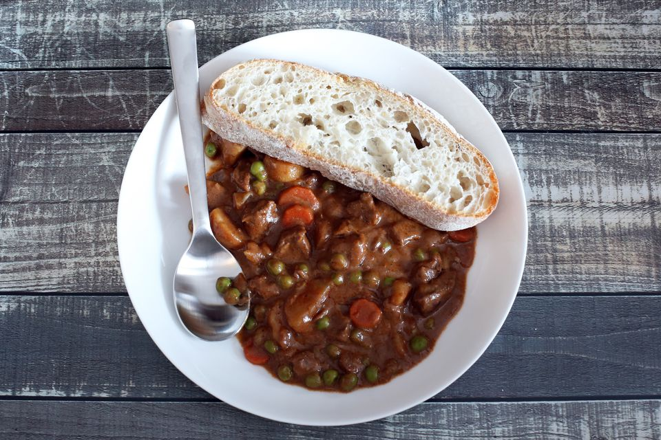 Beef stew with tomato soup