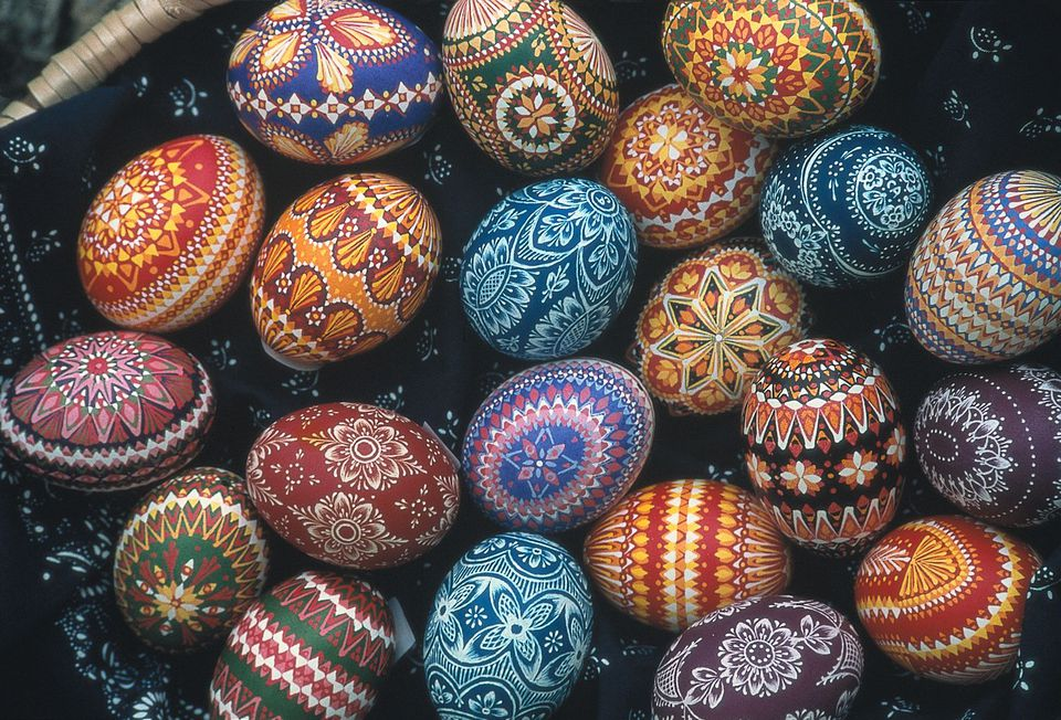 German Easter Eggs