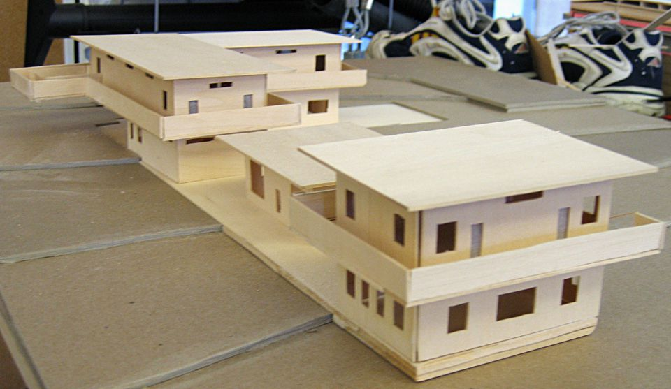 Materials to build dollhouses or scale model buildings for Model house building materials