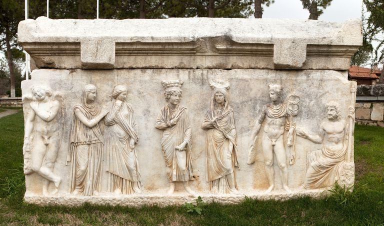 Roman Sarcophagus