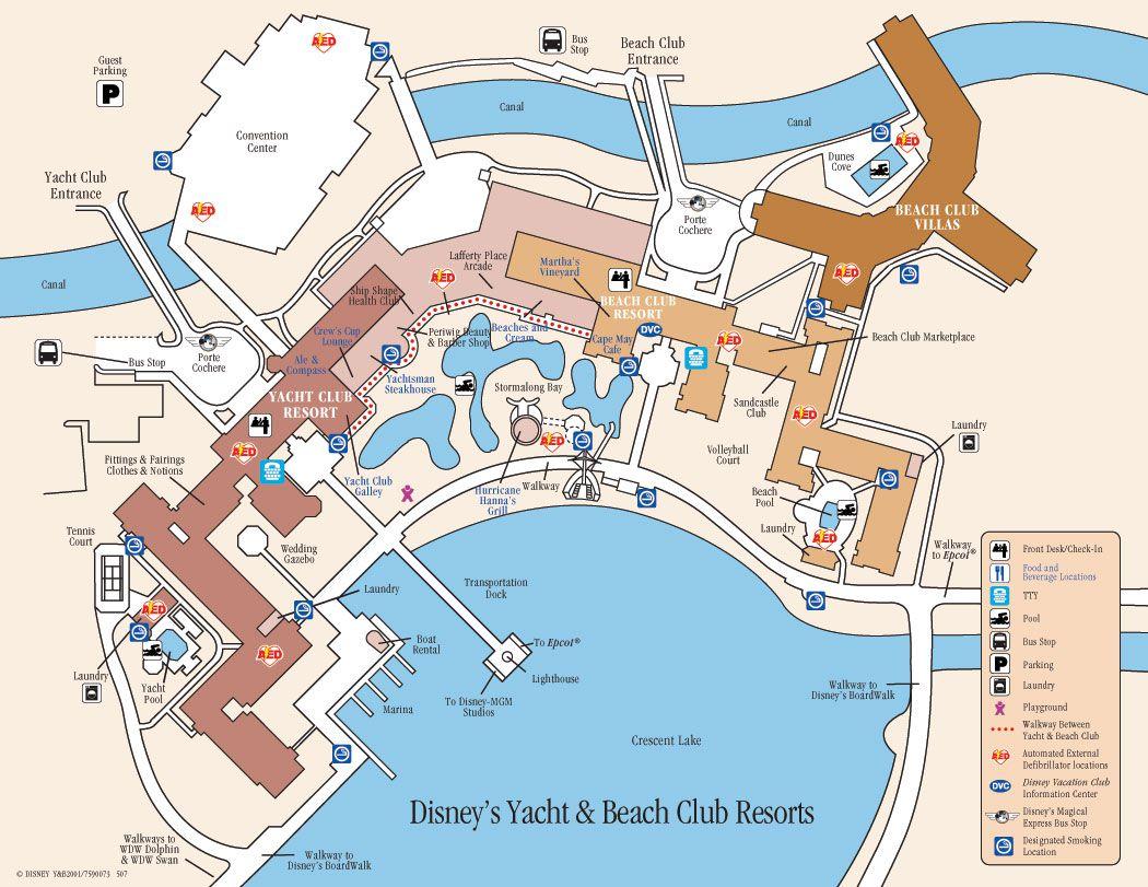 . disney world maps for each resort