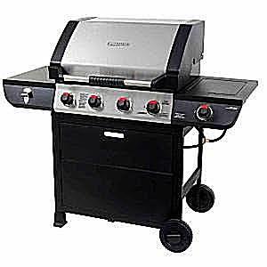 Brinkman 4-Burner Gas Grill Model# 810-2410-S