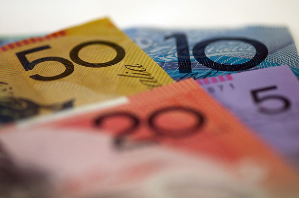 Various Austrialian bank notes.