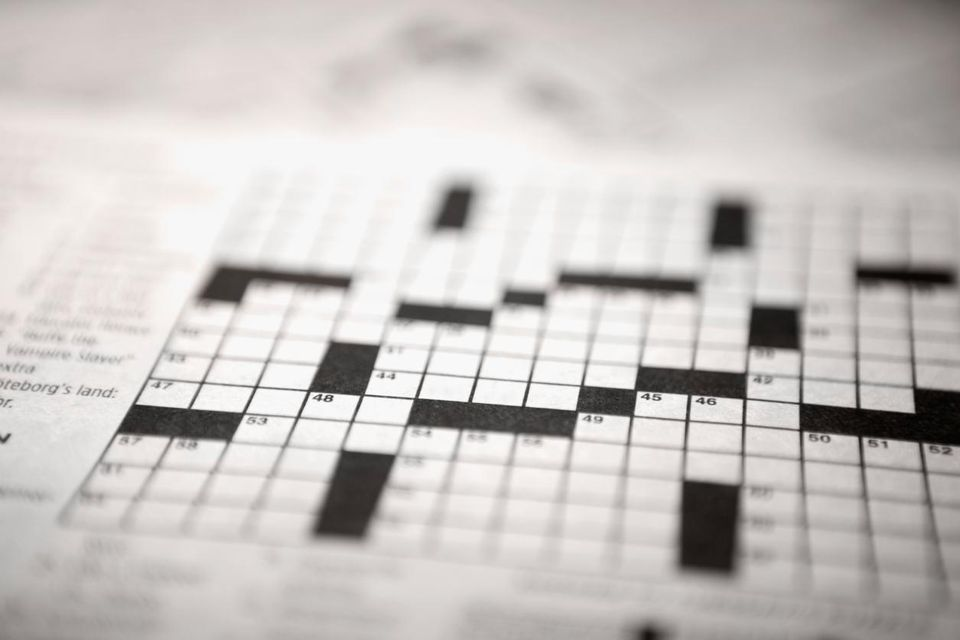 crossword puzzle grid