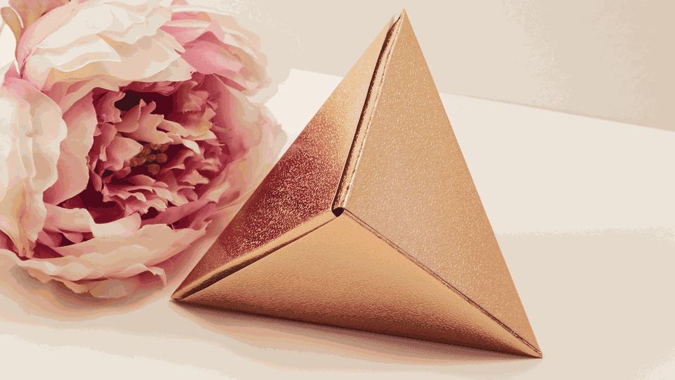 origami fox box tutorial