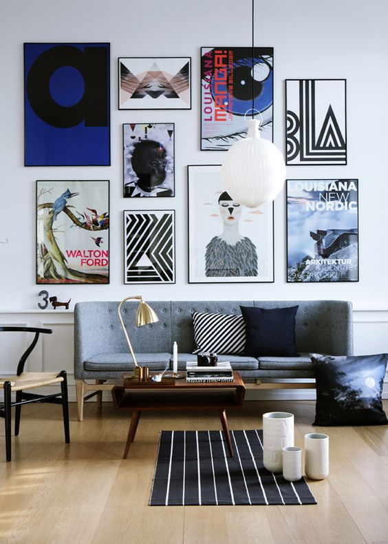 24 Mind-Blowing Gallery Wall Design Ideas