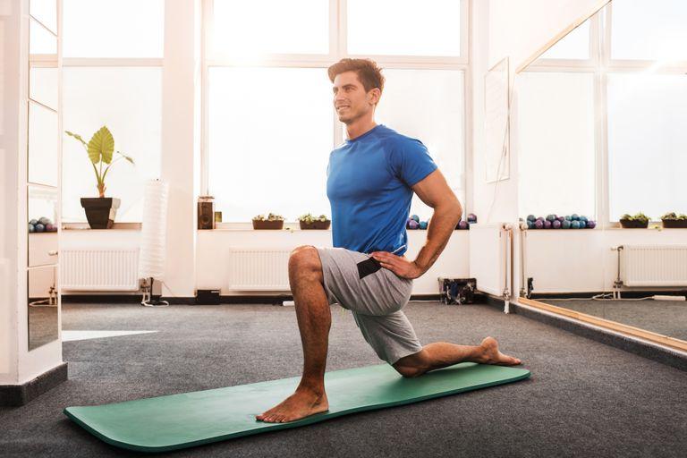 hip flexor psoas stretch