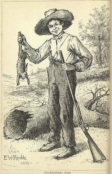 a look at the real huckleberry finn racist or not I, on the other hand, believe huckleberry finn does not represent racism  thus  society as depicted by mark twain consists of good people but does not look to  the  a racist author would never render a black slave with real, caring, deep,.