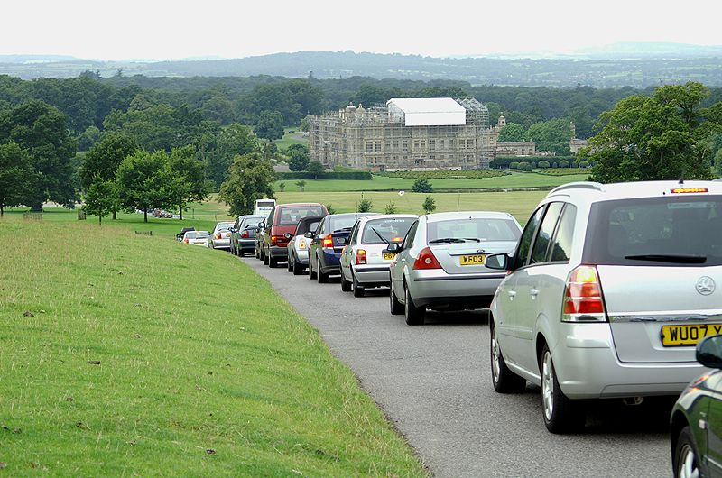 Traffic at Longleat