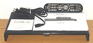 DVDO Edge Video Scaler By Anchor Bay - Front View With Accessories