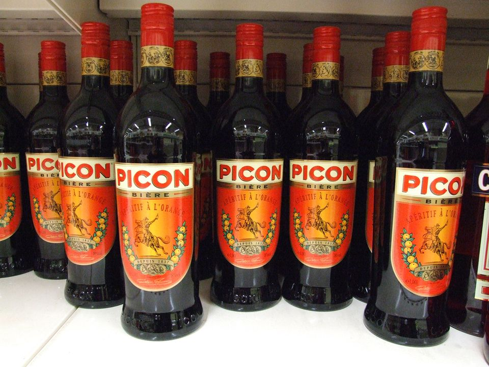 Bottles of Picon Biere