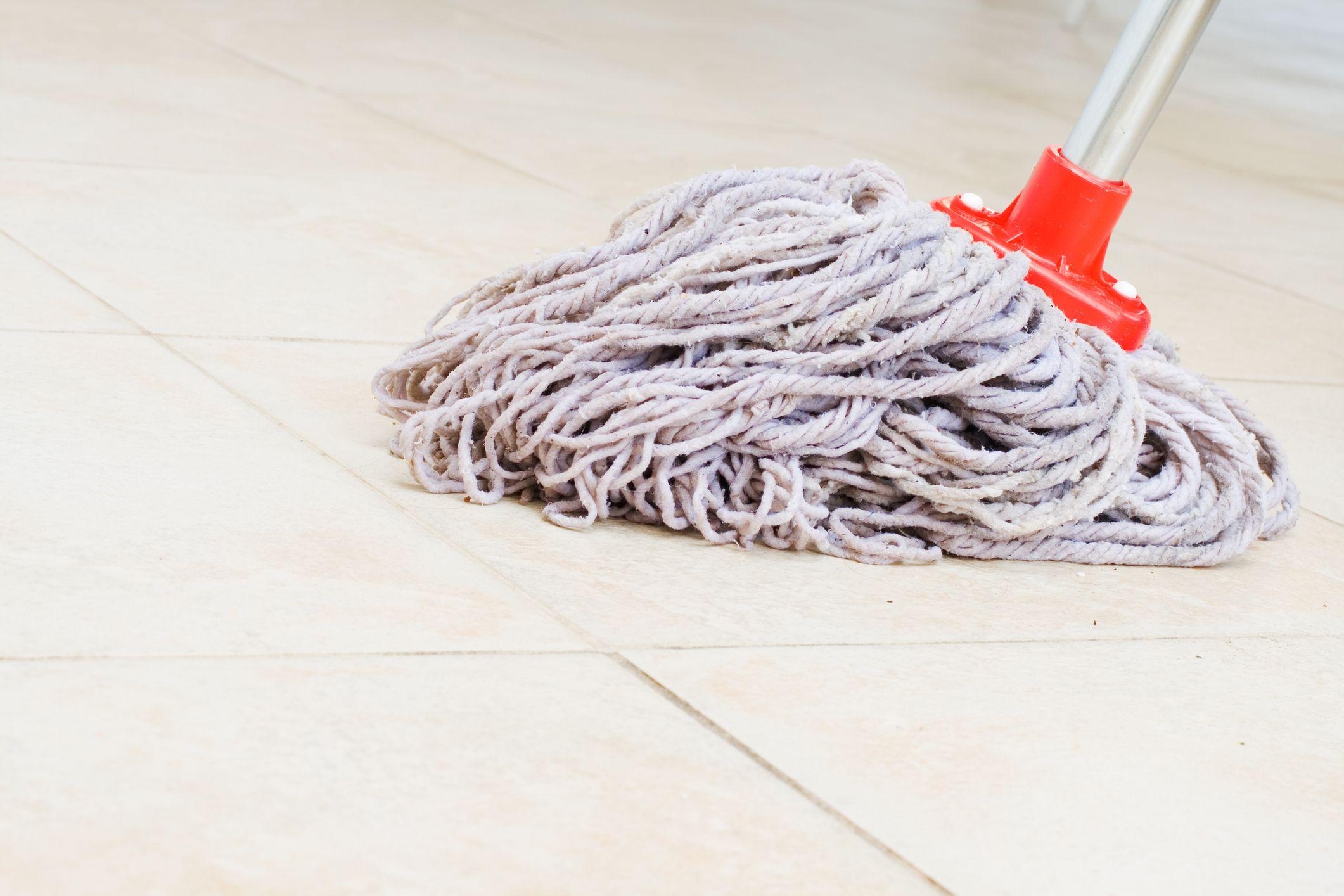 Keep Your Mop Sanitary