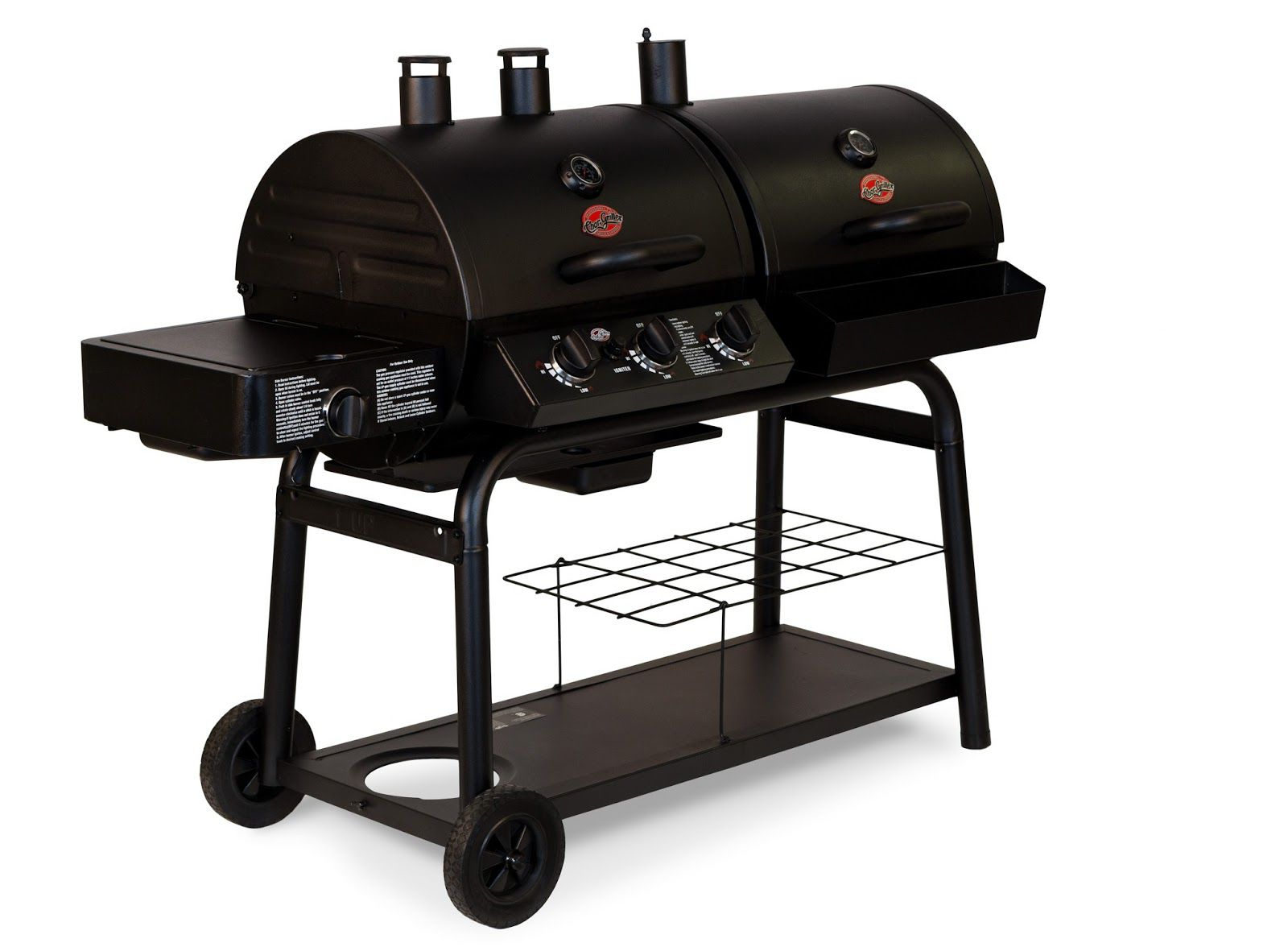 char broil combination gas charcoal grill review