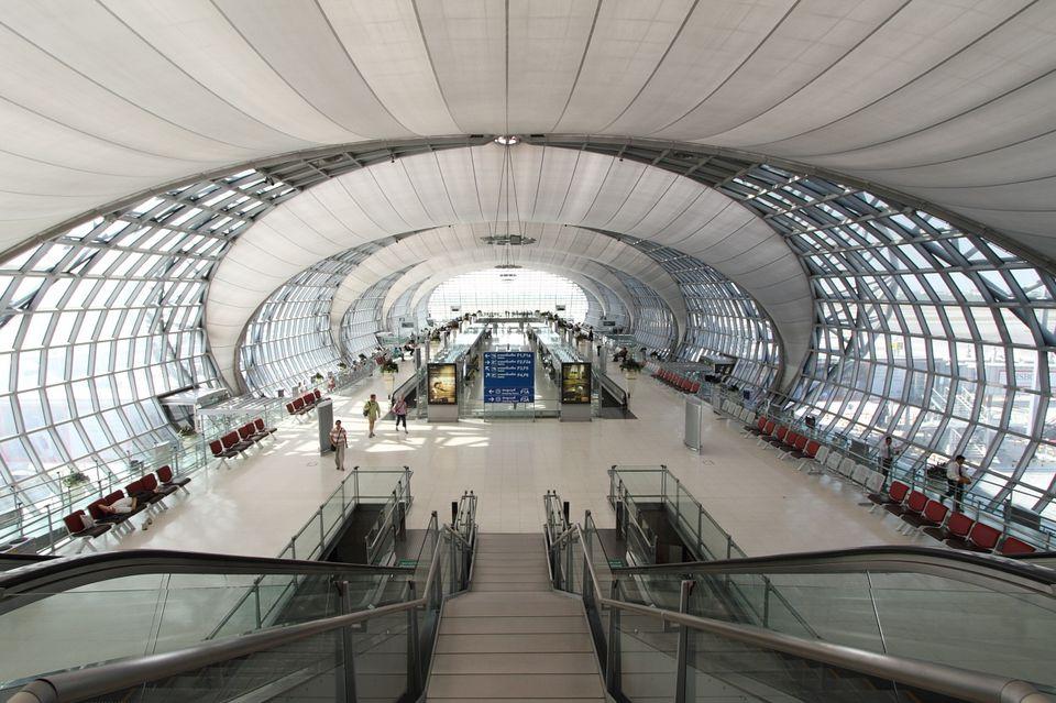 Terminal in the Bangkok Airport