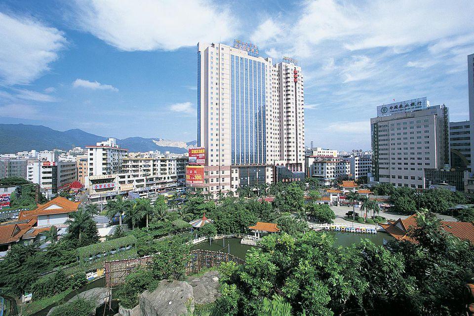 Cityscape, Longgang, Shenzhen, Guangdong Province, China