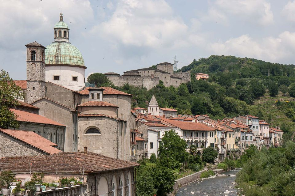 the Tuscany town of Pontremoli