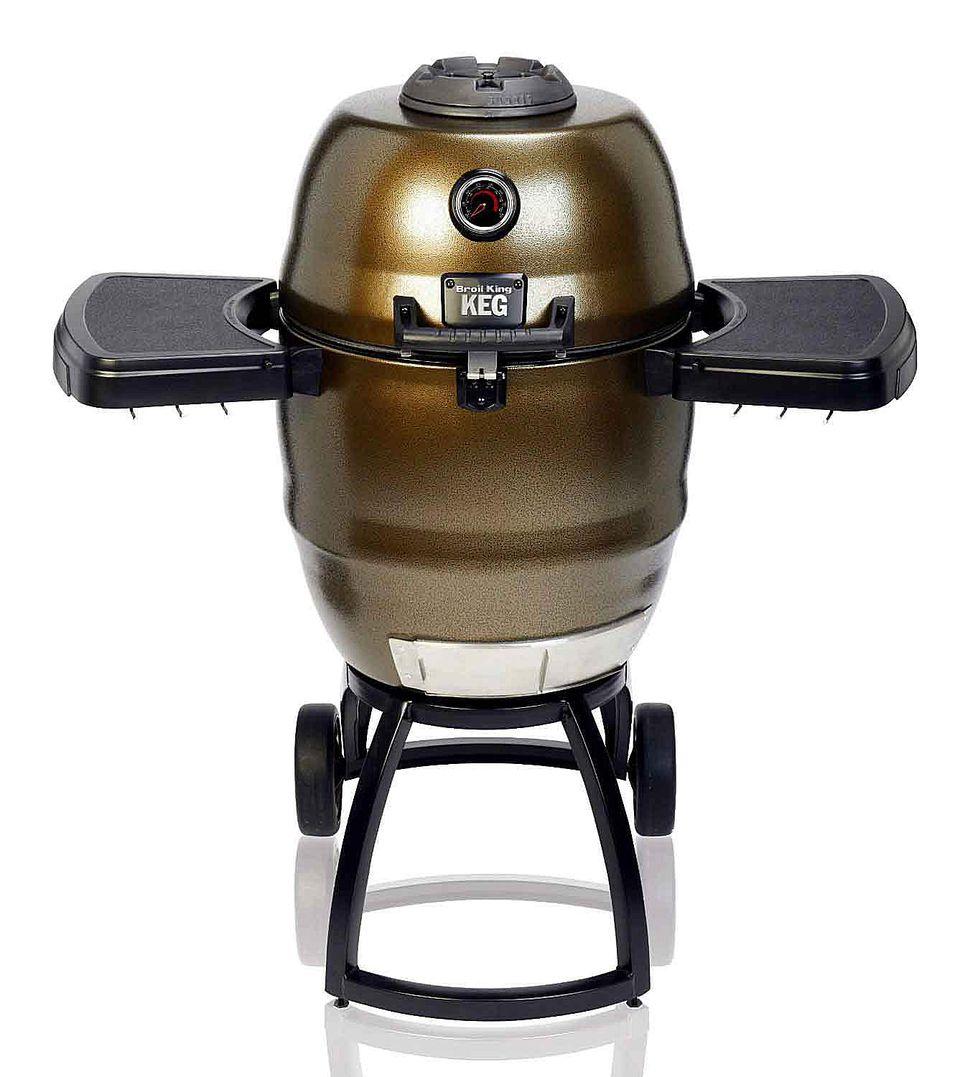 Big Steel Keg Charcoal Grill