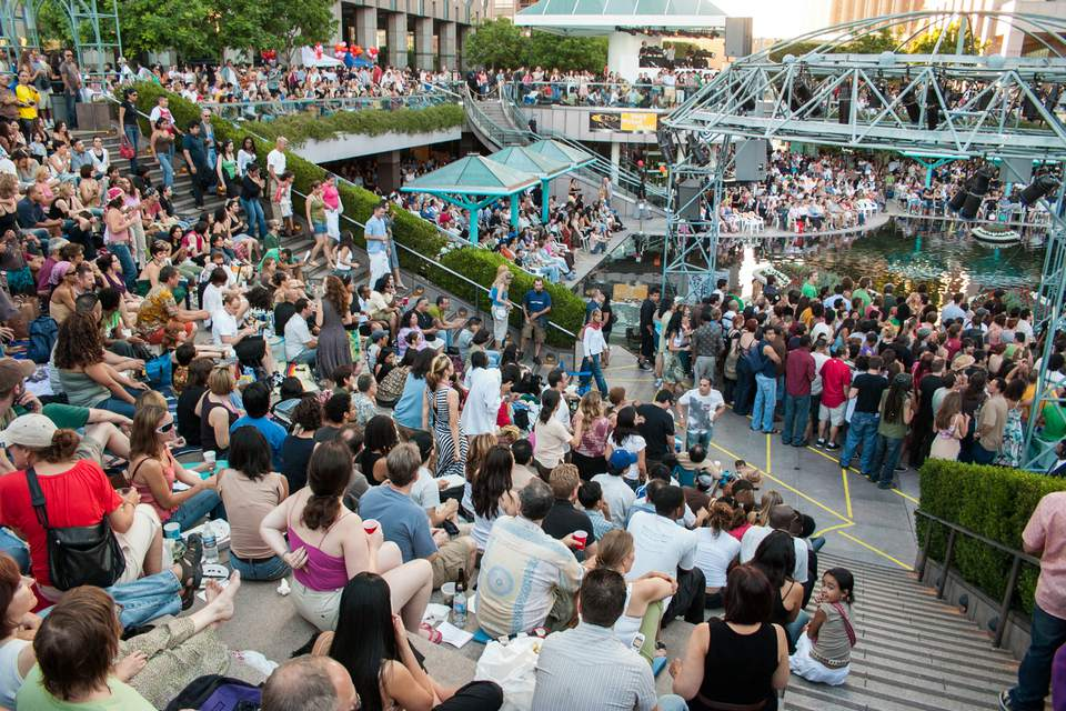 Grand Performances Concert at California Plaza in Los Angeles