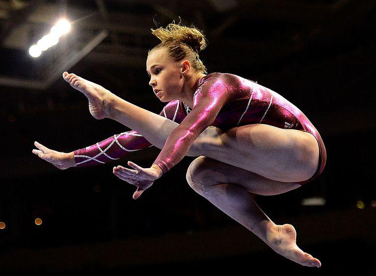 Rebecca Bross at 2012 U.S. Olympic Gymnastics Team Trials