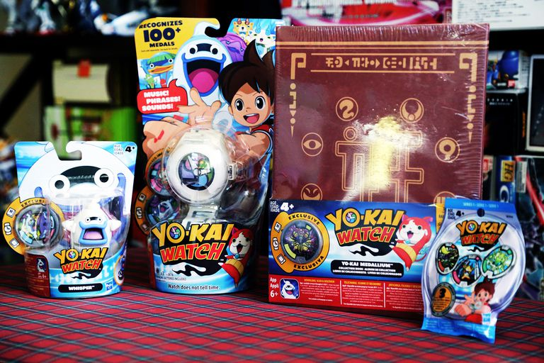 Yo-Kai Watch Series 1 toys