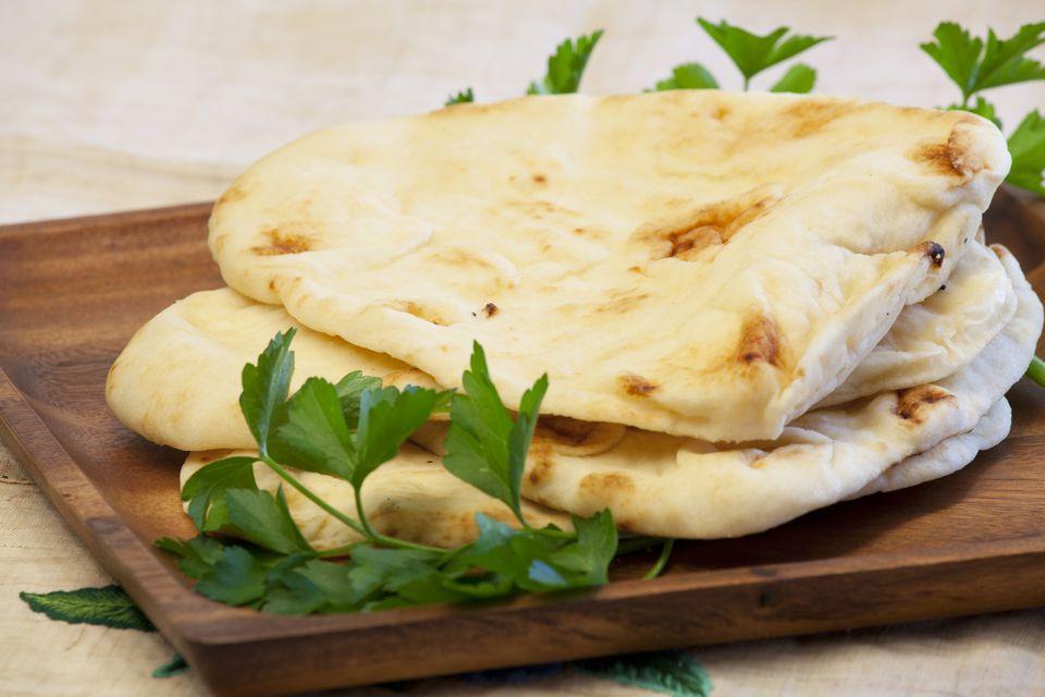 Naan flat bread