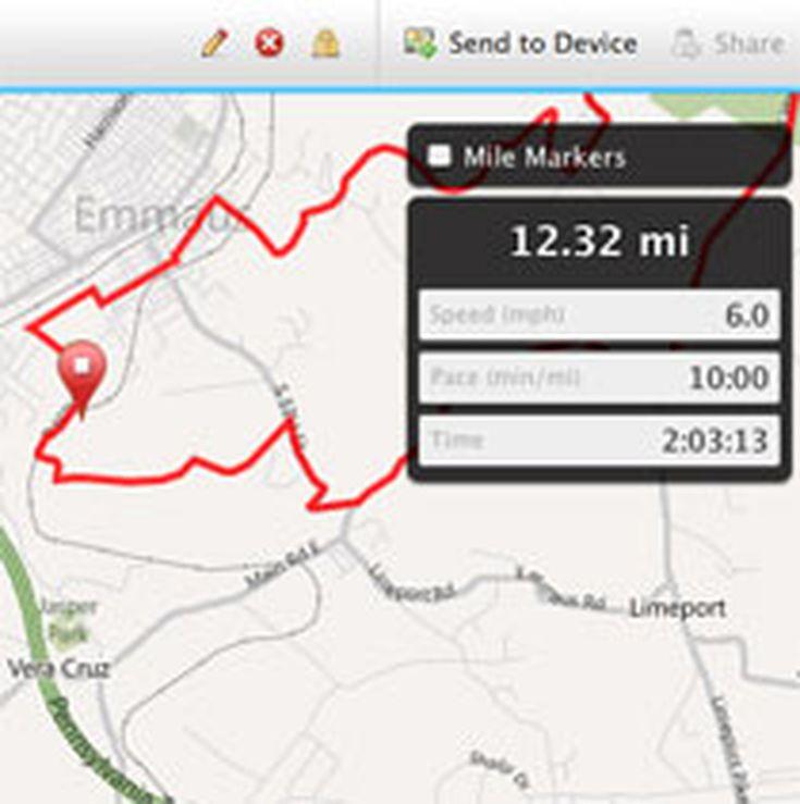 Garmin Edge Cycle Computer Uploading Bike Route Maps - Garmin us cycle map