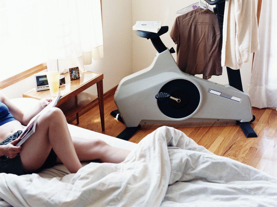 feng shui bedroom exercise equipment