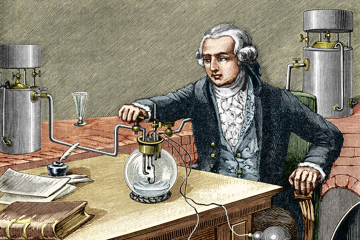 an introduction to the life and work of antoine laurent lavoisier Antoine-laurent lavoisier was born into academy of sciences for work on a new improved could no longer support either life or.