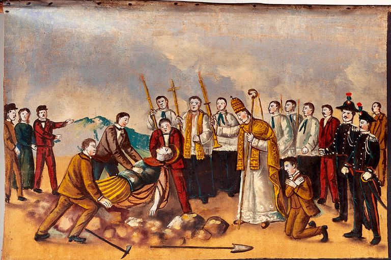Saint Expeditus (Oil Painting)
