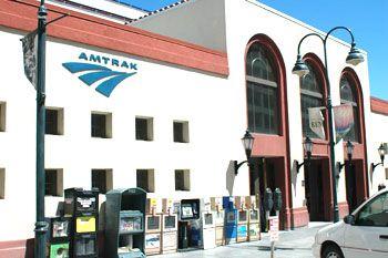 Amtrak train station in Reno, Nevada, NV