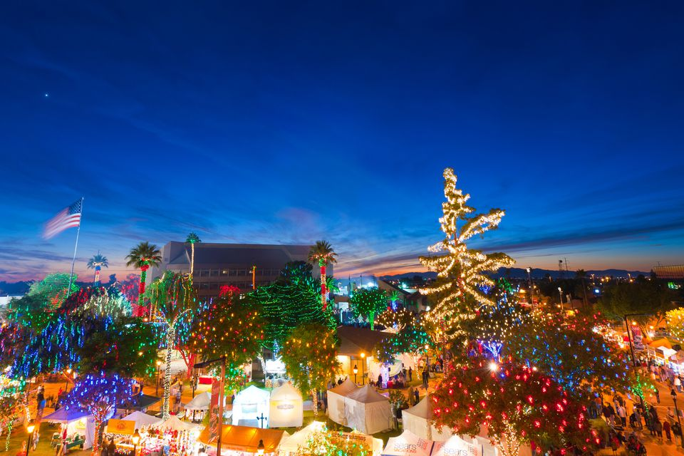 Holiday Lights in Phoenix: Glitter and Glow in December
