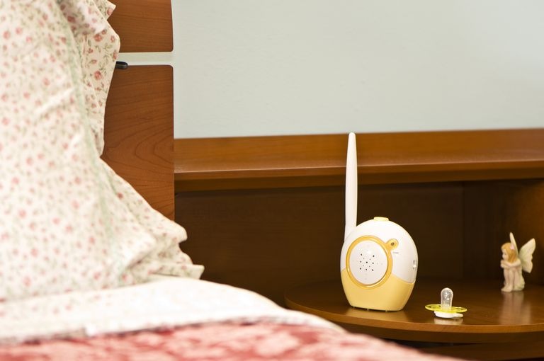 Can a baby monitor transmit sounds from the past?