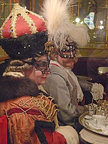 venice pictures, carnevale pictures, cafe florian