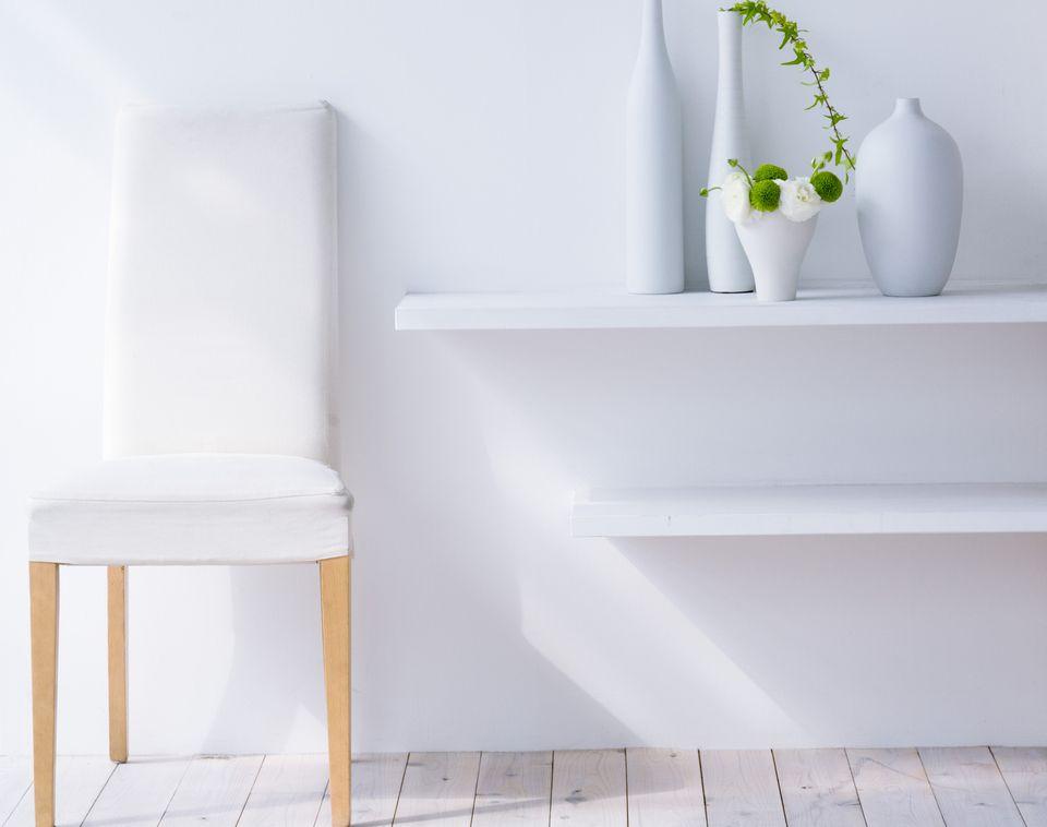 white color decor