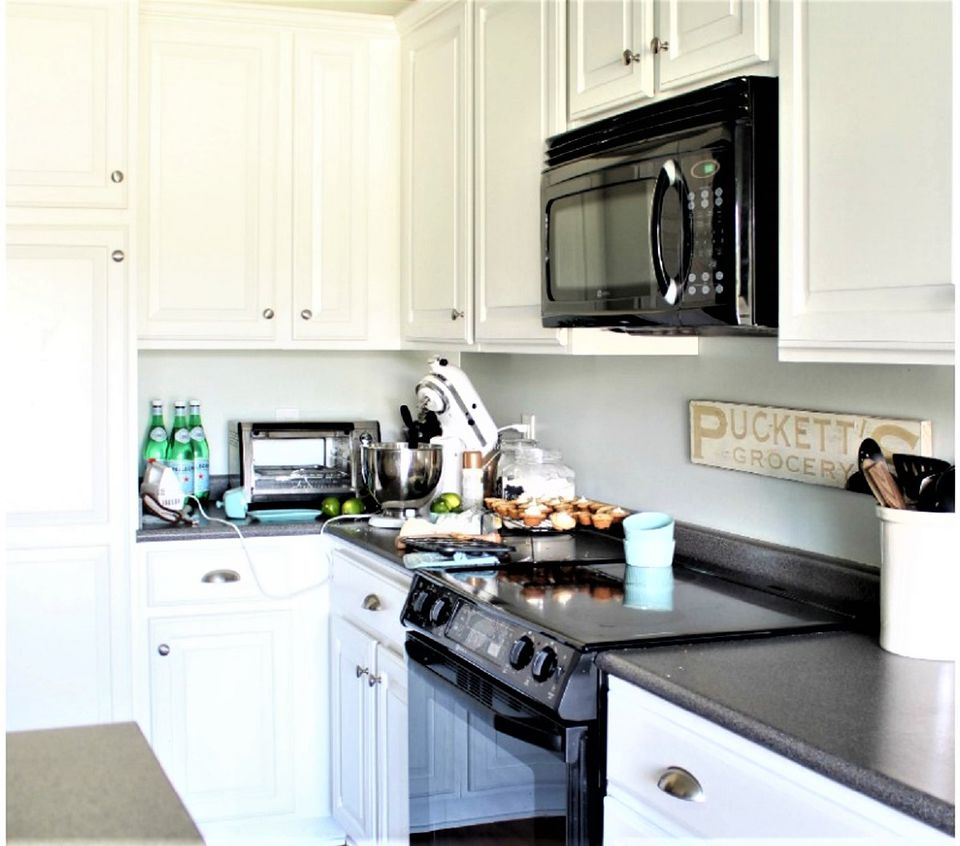 Cost Of Painting Kitchen Cabinets White: Painted Kitchen Cabinet Ideas